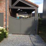 Moderne poort - Cottage ALU Toog/Boog