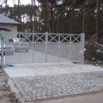 Moderne poort - Crossbar