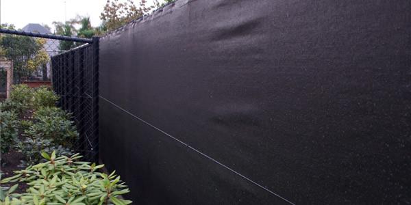Zichtdoek privacy draadafsluiting aev afsluitingen - Doek voor tuinborstel ...