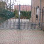 Moderne poort Bleekvliet